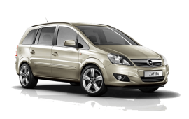 Opel Zafira 7 zitter